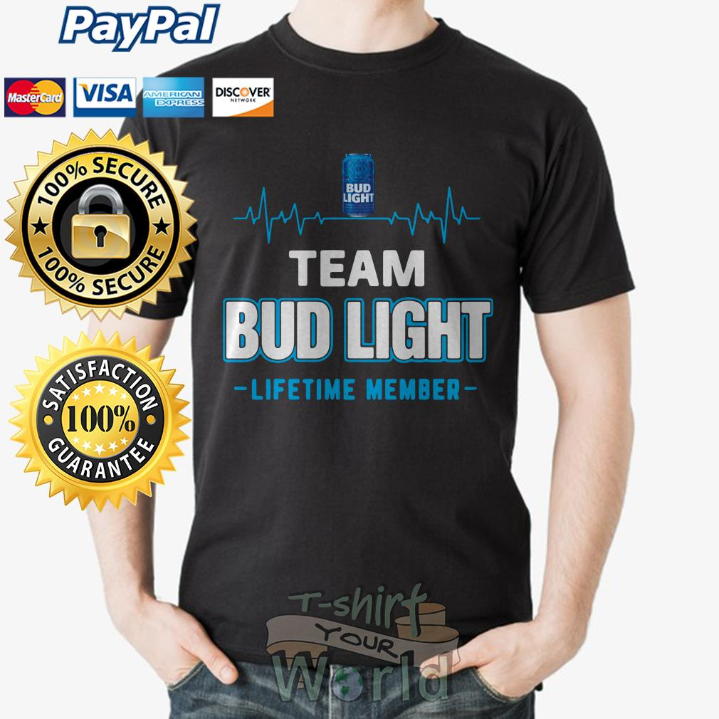 Bud light lifetime member shirt