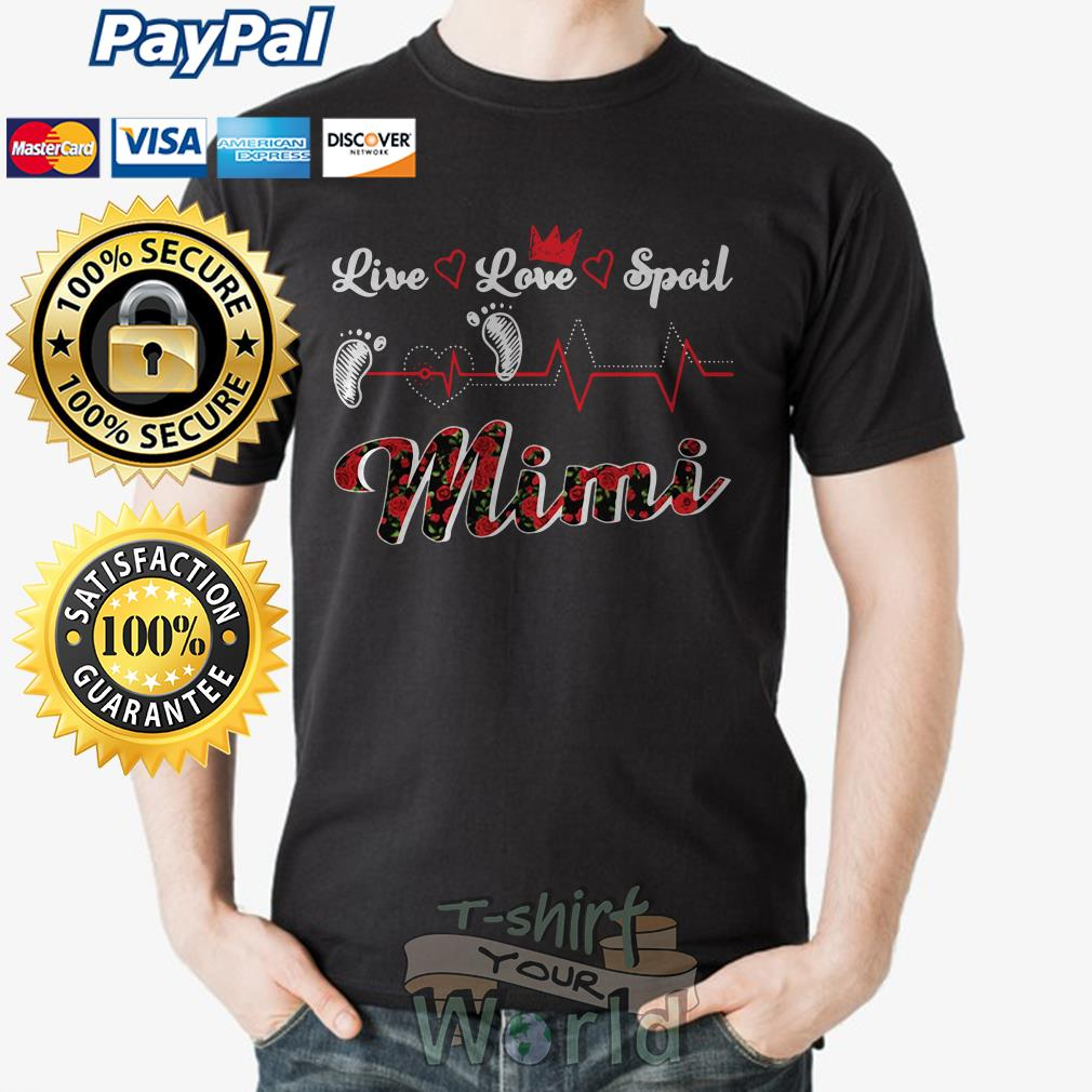 Foot Live Love Spoil Mimi shirt