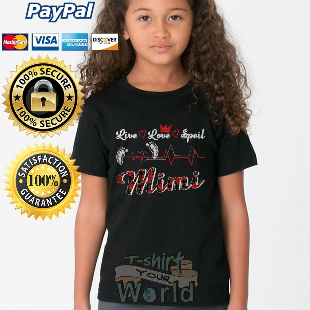 Foot Live Love Spoil Mimi Youth tee