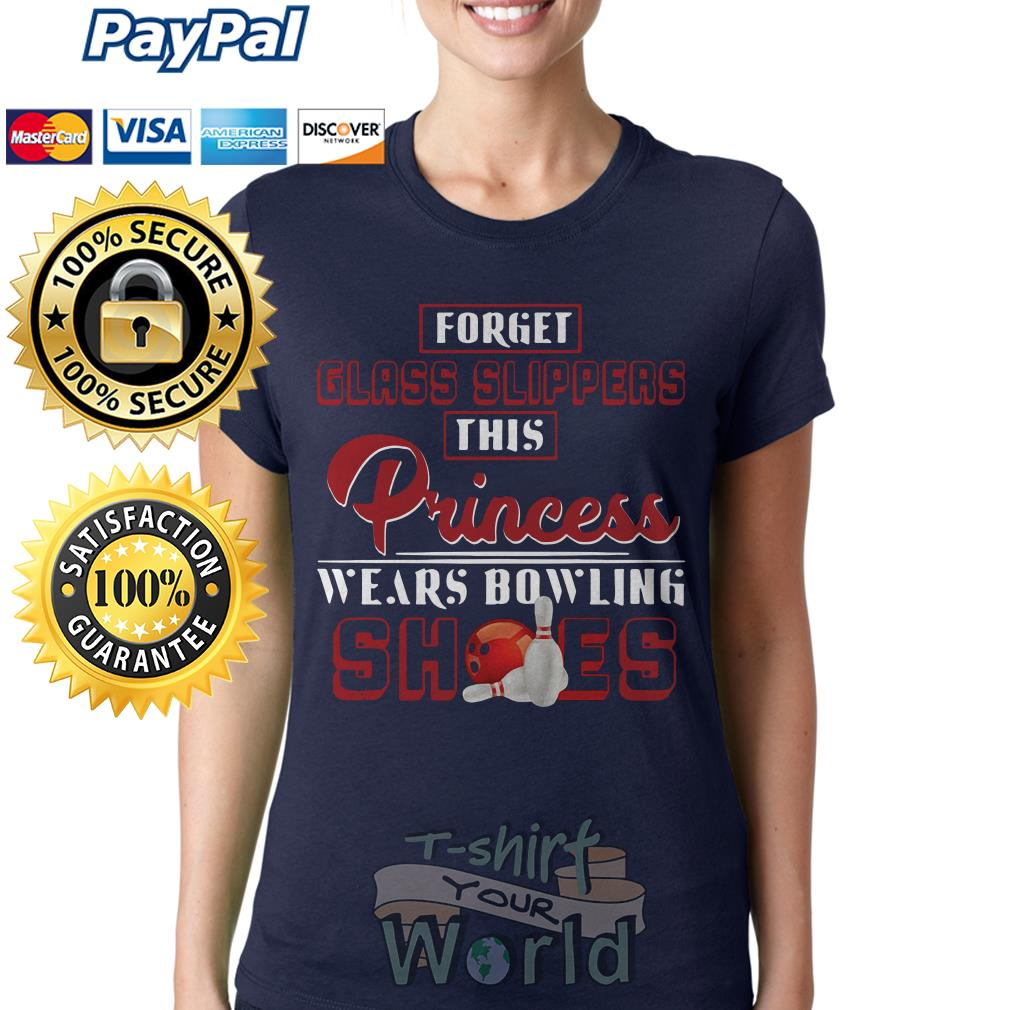 Forget glass slippers this Princess wears bowling shoes Ladies tee