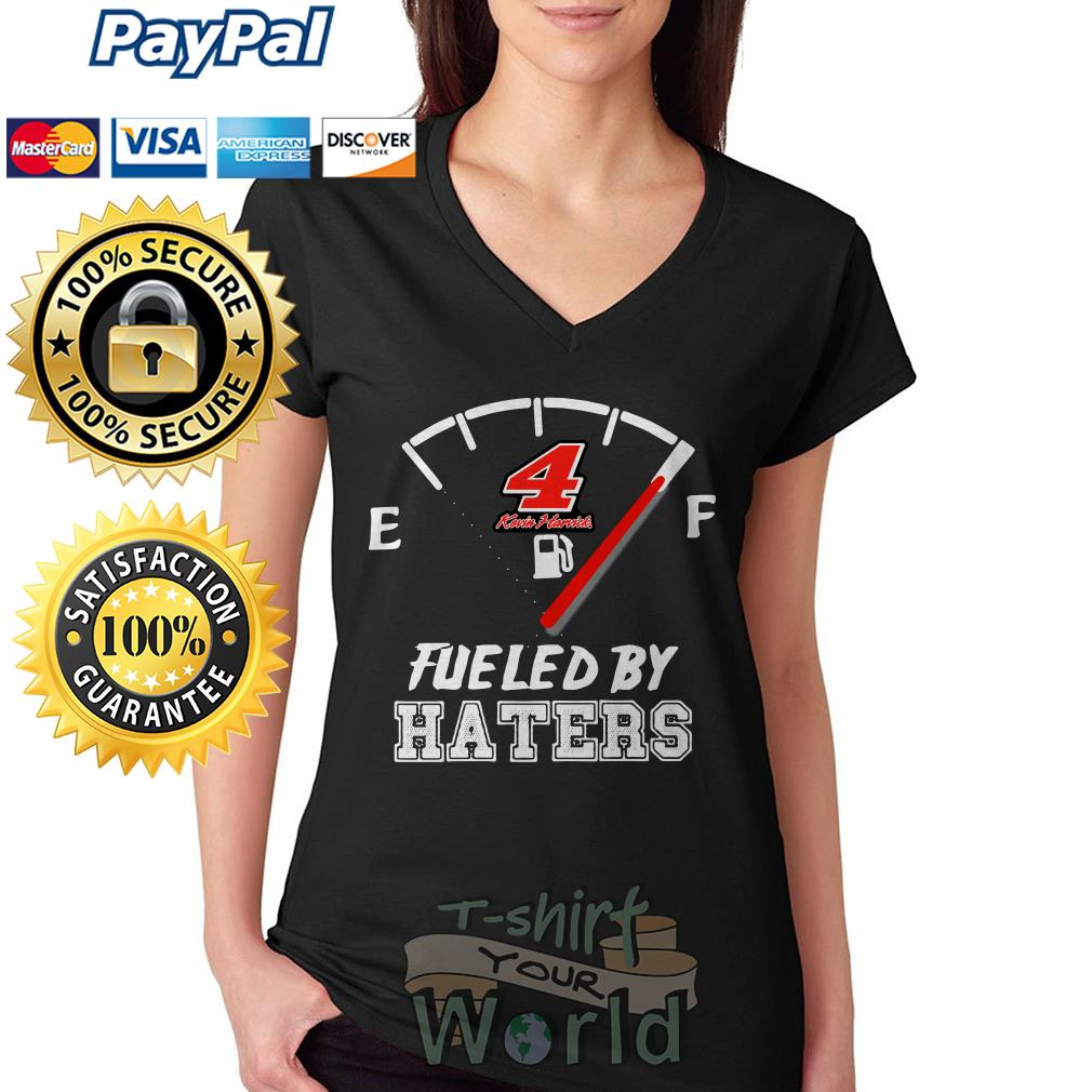 Kevin Harvick 4 Fueled by Haters V-neck T-shirt
