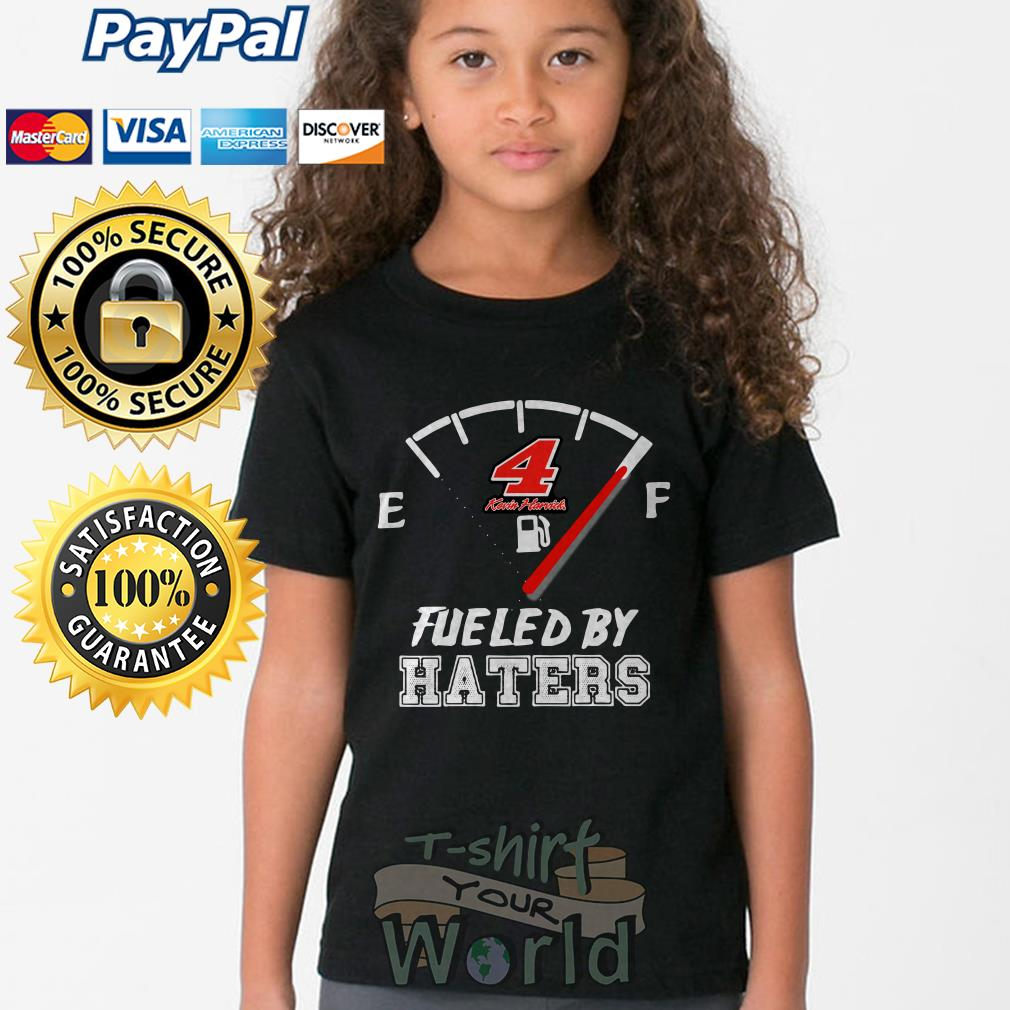 Kevin Harvick 4 Fueled by Haters Young tee