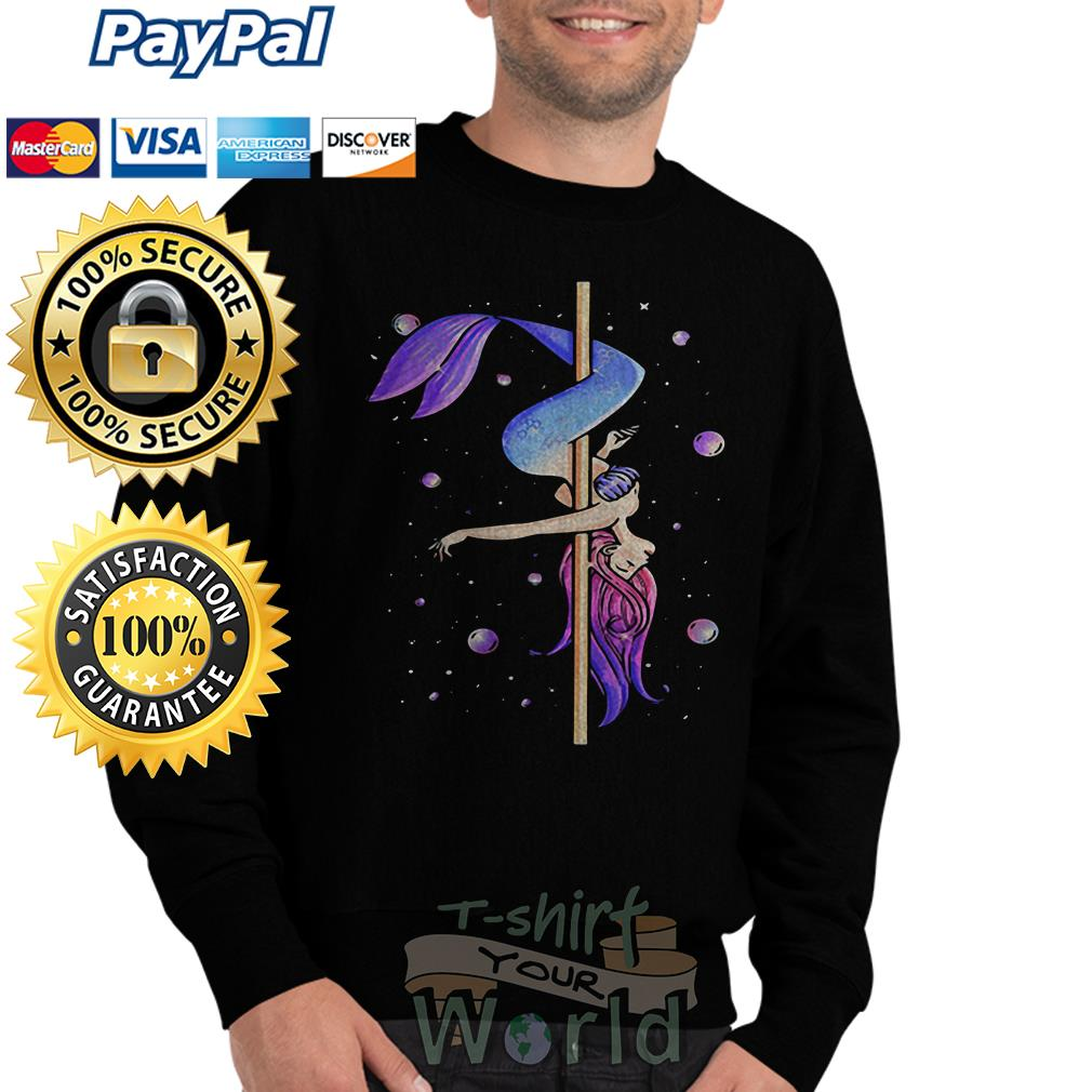 Mermaid pole dancing Sweater