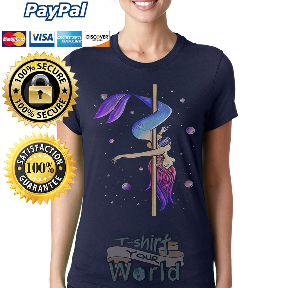 Mermaid pole dancing Ladies tee