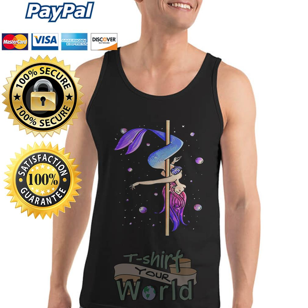 Mermaid pole dancing Tank top