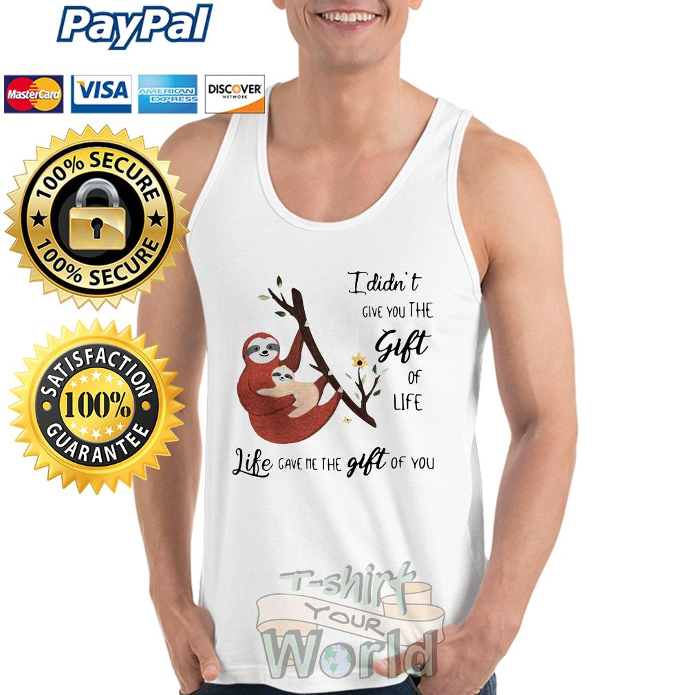 Mother and Daughter Sloth Tank top