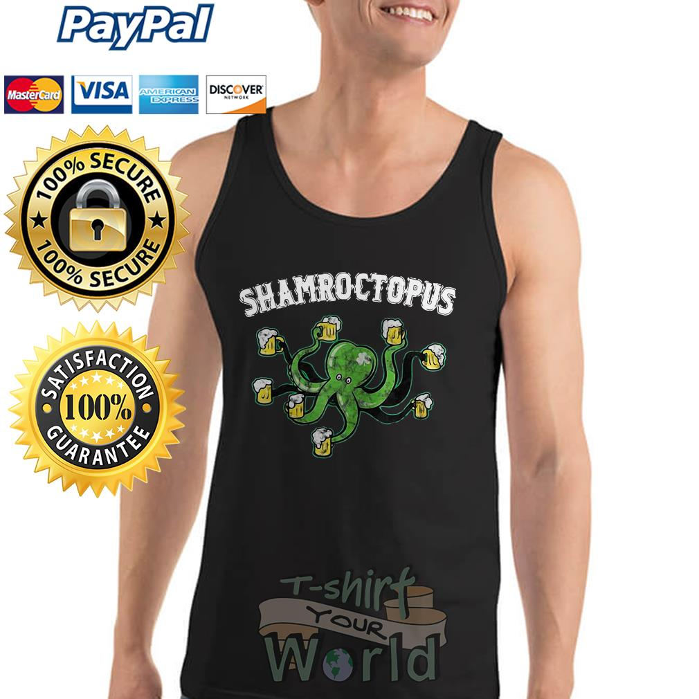 Octopus Shamroctopus Tank top