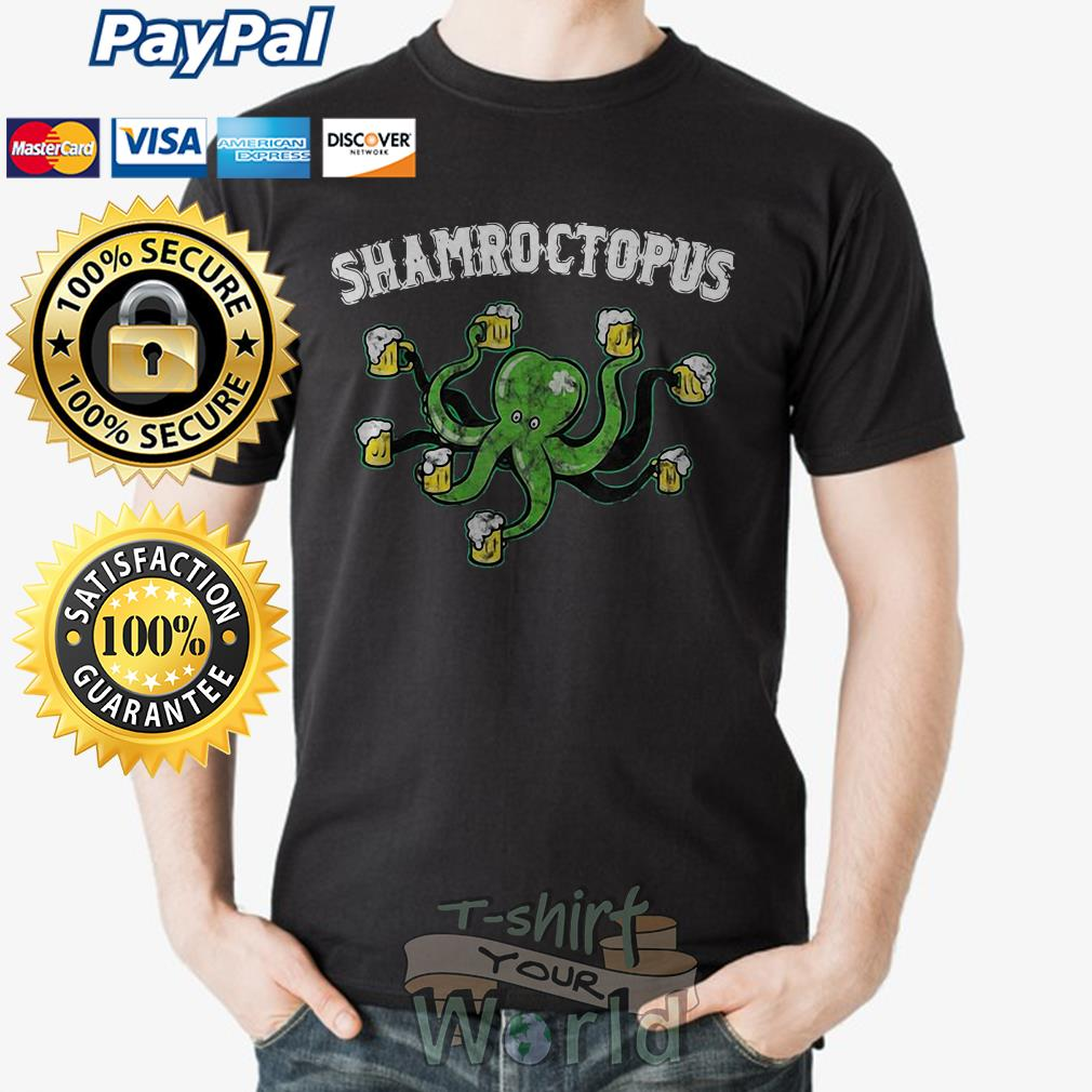 Octopus Shamroctopus shirt