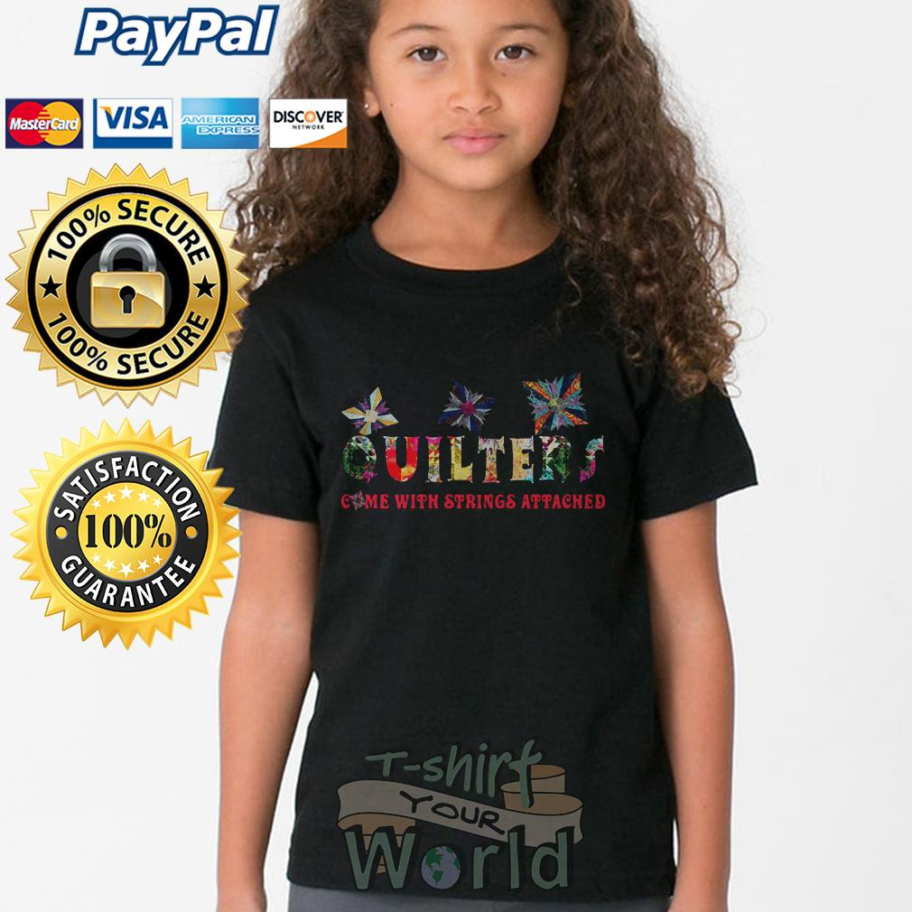 Quilters come with strings attached Young tee