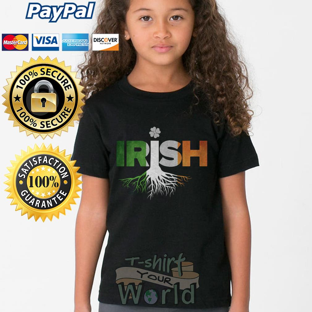 Roots LGBT St. Patrick's Day Irish Youth tee