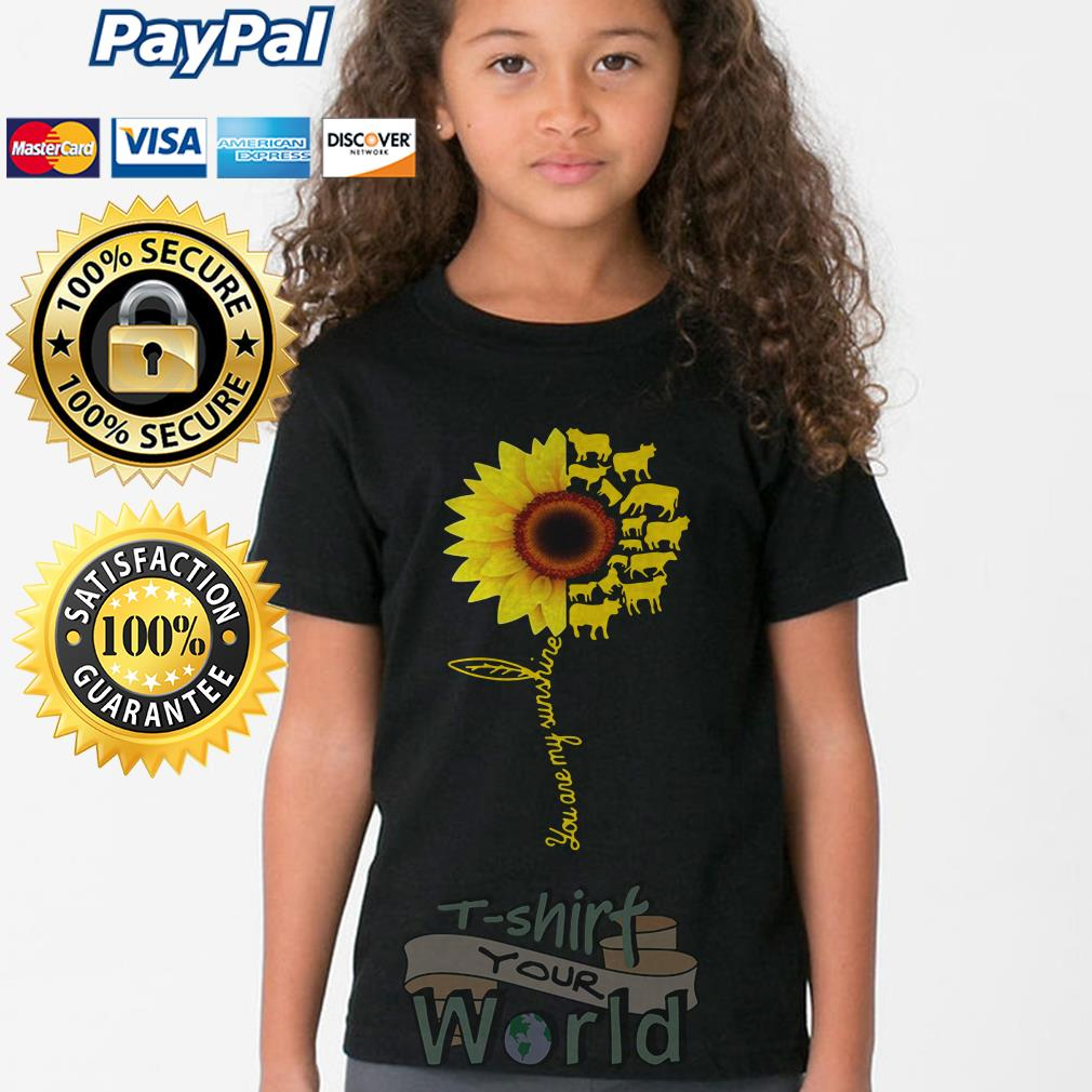 You Are My Sunshine Cow Young tee