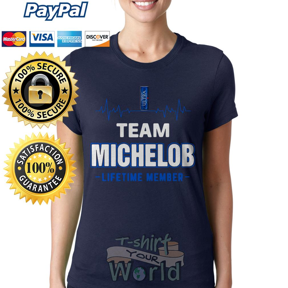 Team Michelob lifetime member Ladies tee