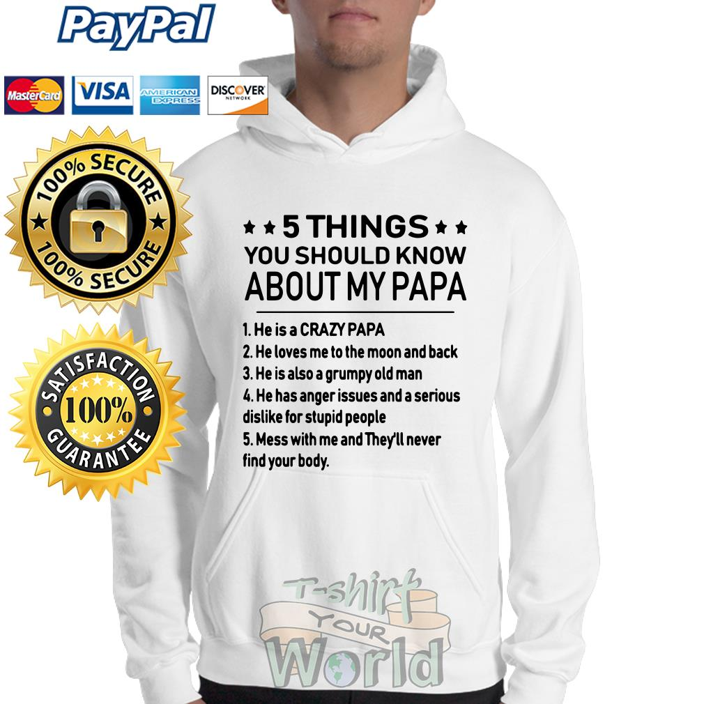 5 things you should know About My Papa Sweater