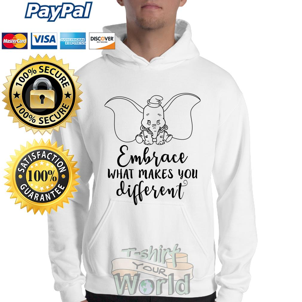 Elephant Embrace what makes you different Sweater