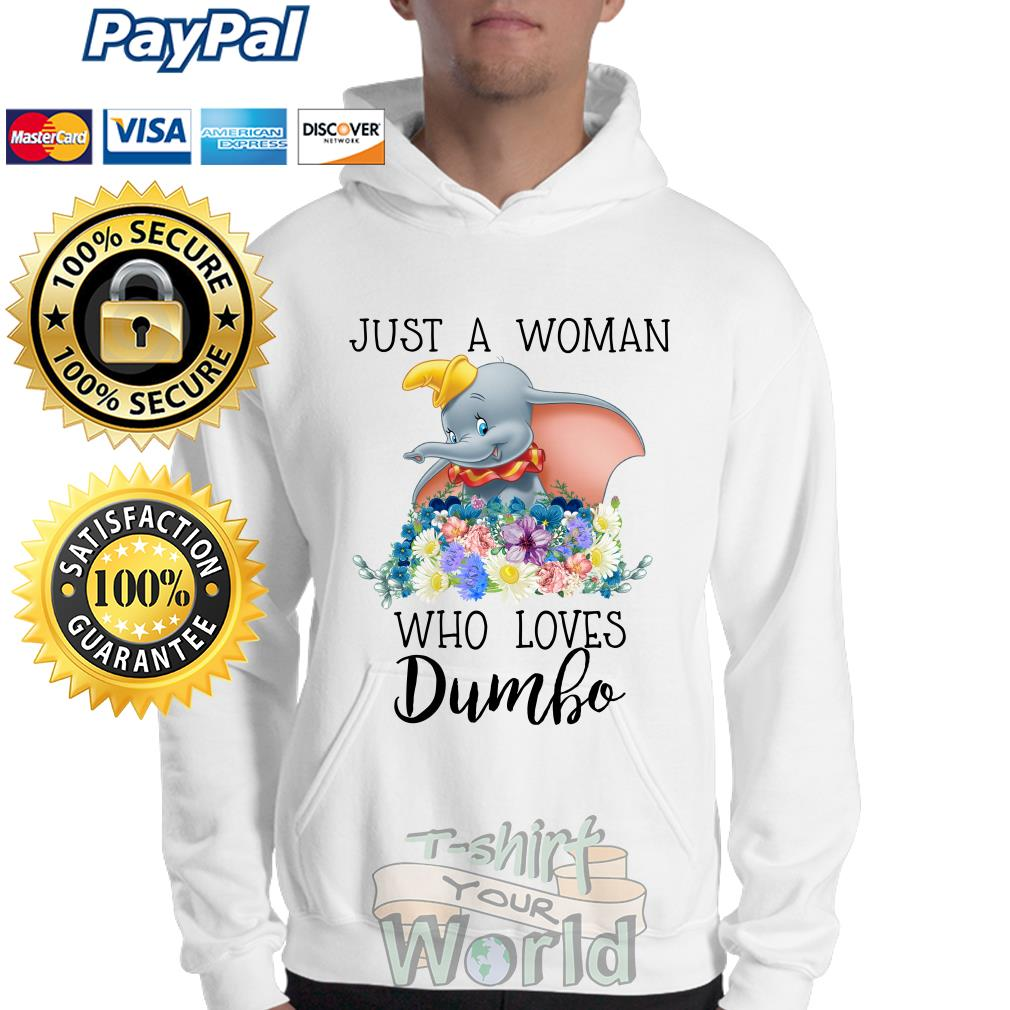 Elephant Just a Woman who loves Dumbo Sweater