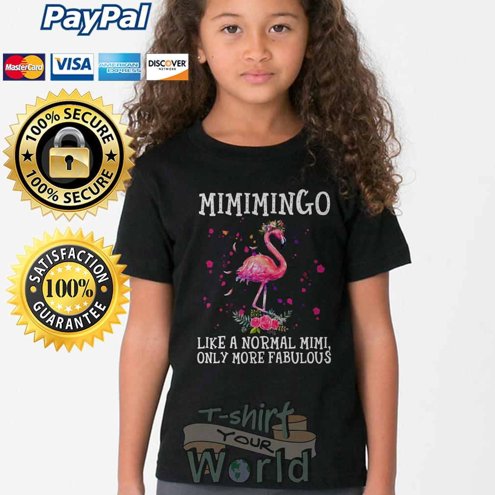 Flamingo Mimimingo like a normal mimi only more fabulous Youth tee