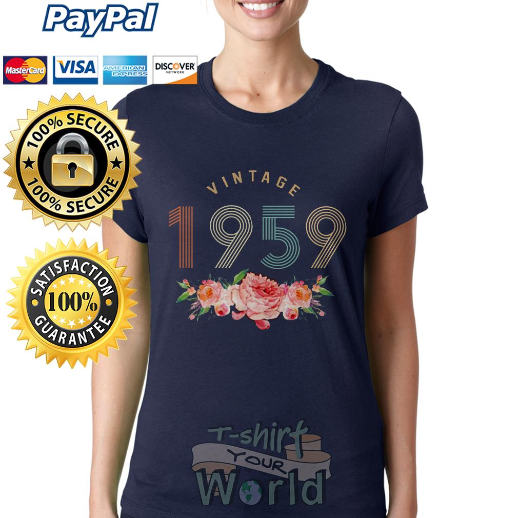 Flower Vintage 1959 Ladies tee