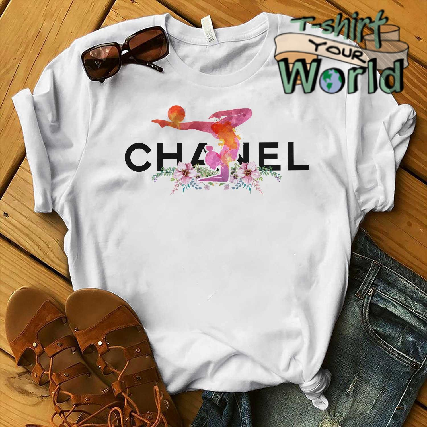 Gymnastics Chanel flower shirt