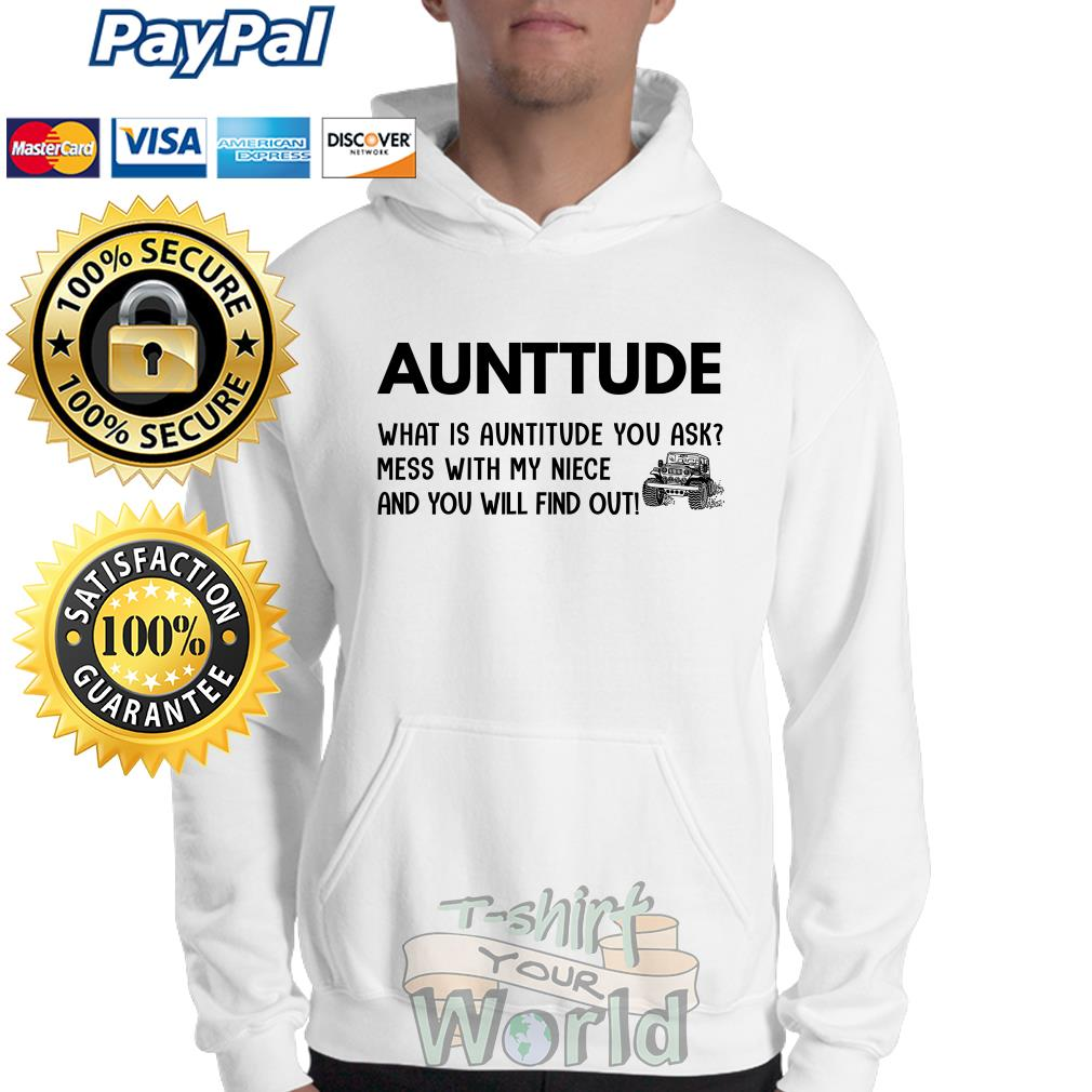 Jeep Aunttude what is Auntitide you with my niece and you will Sweater