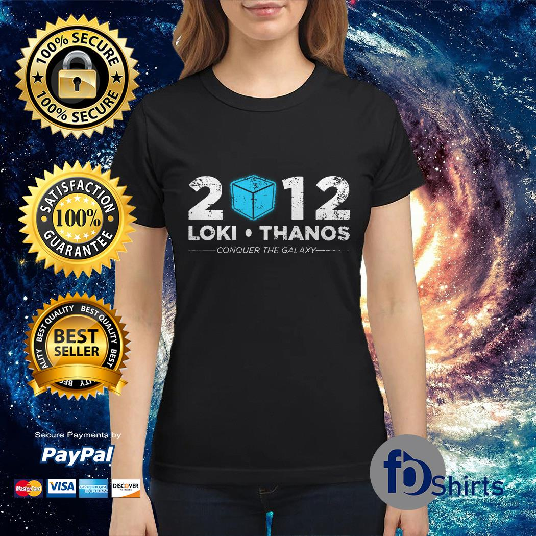 Loki Thanos 2012 support The Gauntlet party Ladies tee