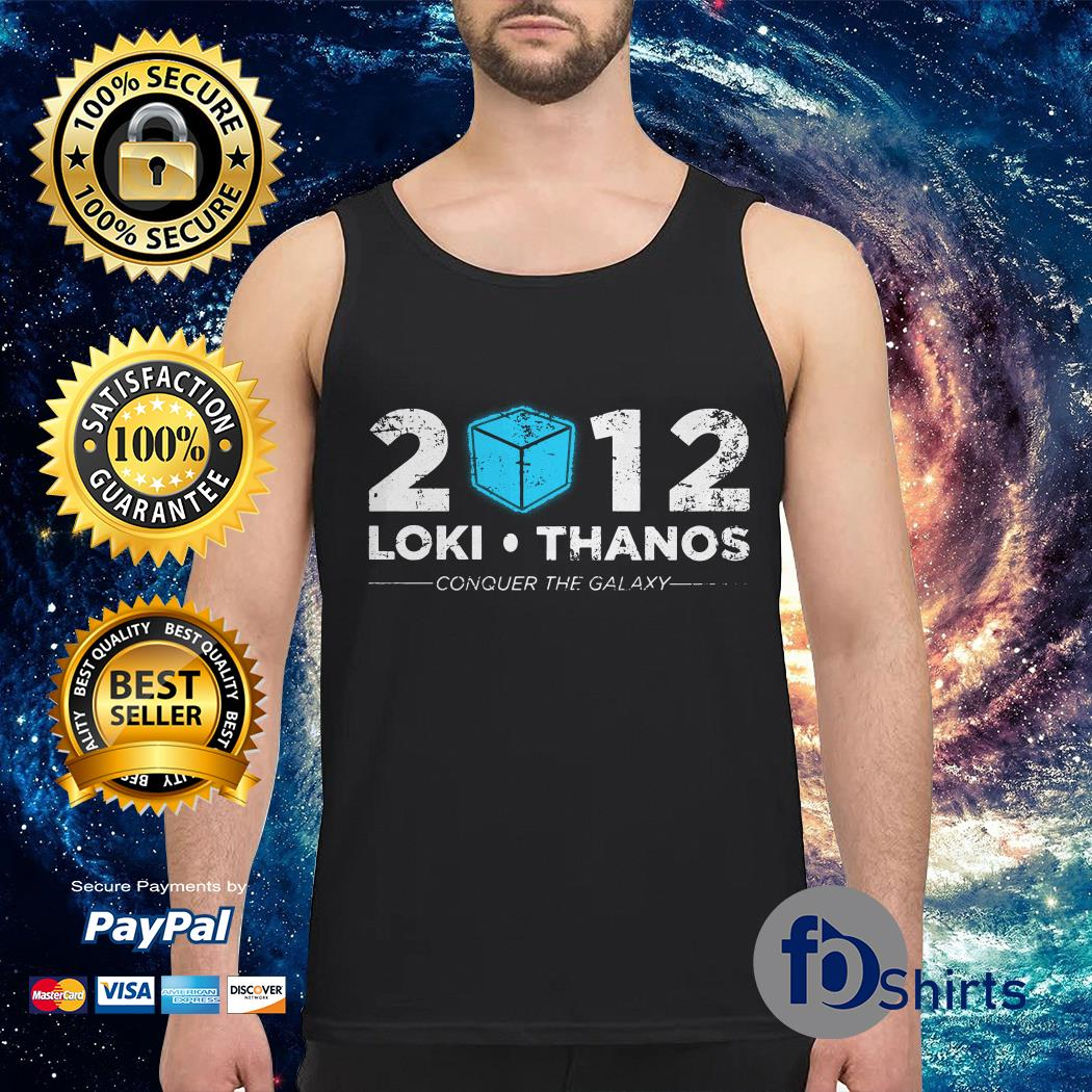 Loki Thanos 2012 support The Gauntlet party Tank top