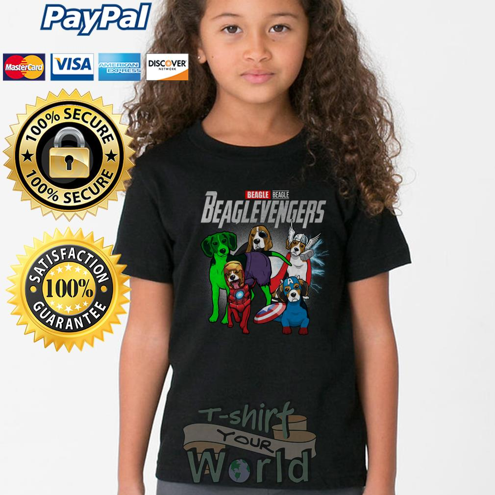 Marvel Avenger Endgame Beagle Beaglevengers Youth tee