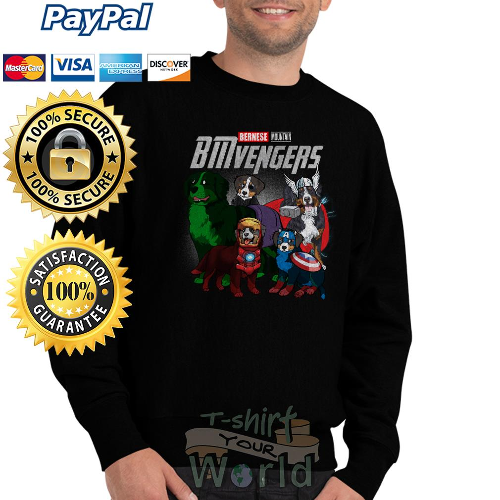 Marvel Avenger Endgame Bernese Mountain Bmvengers Sweater