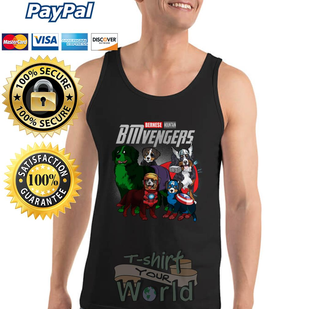 Marvel Avenger Endgame Bernese Mountain Bmvengers Tank top