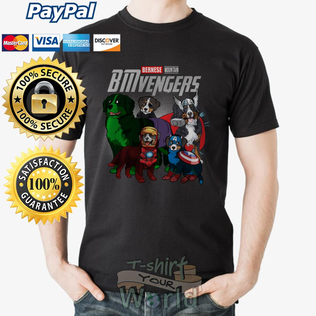 Marvel Avenger Endgame Bernese Mountain Bmvengers shirt