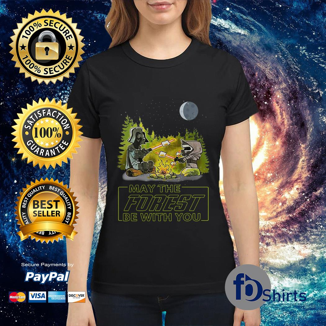 Star Wars May the forest be with you Ladies tee