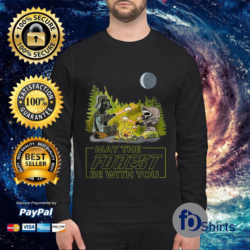 Star Wars May the forest be with you Sweater