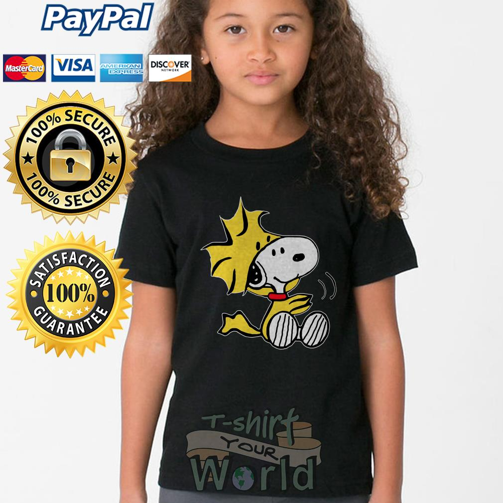 Woodstock from Peanuts Snoopy Youth tee