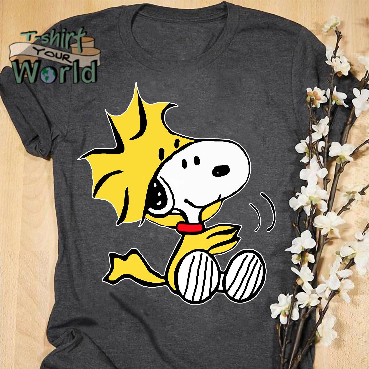 Woodstock from Peanuts Snoopy shirt