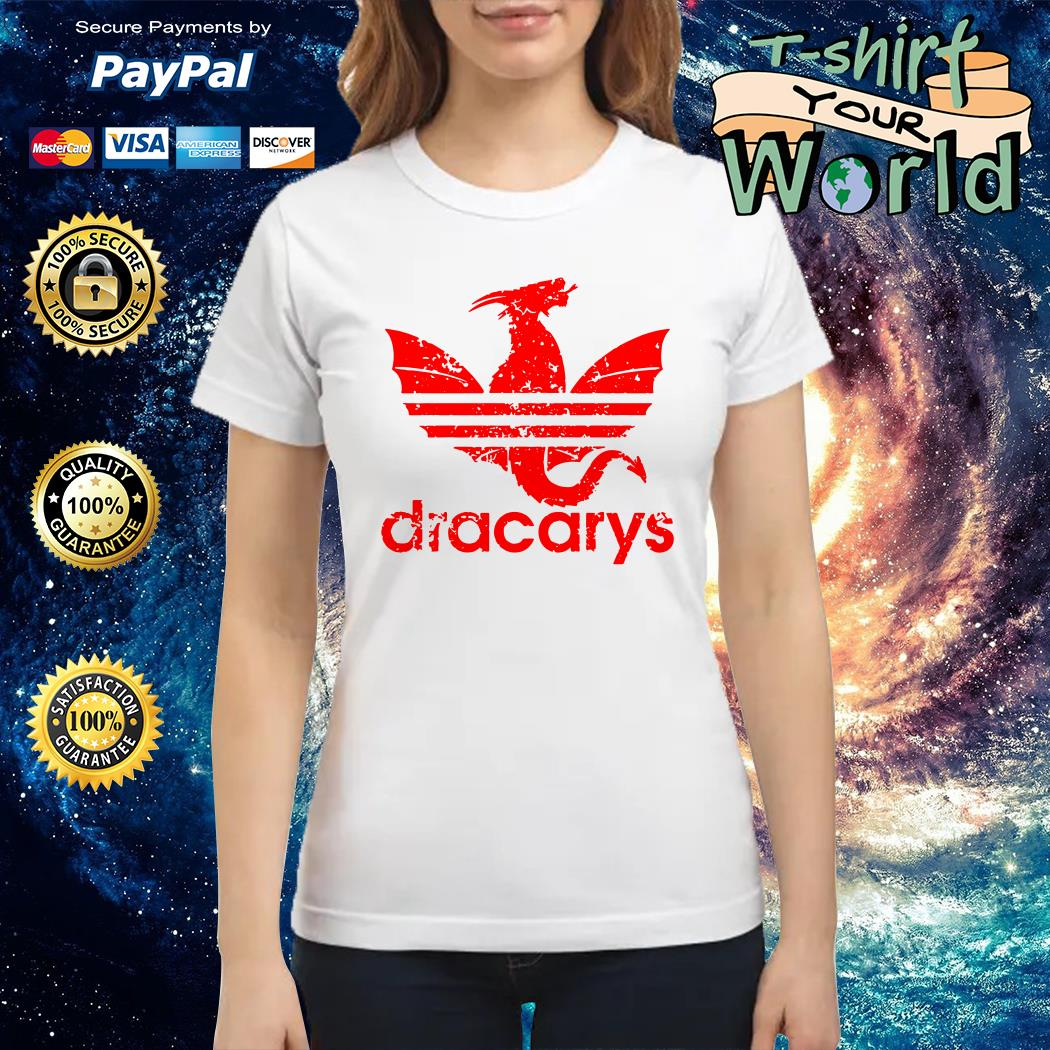 Adidas dracarys dragon Ladies tee