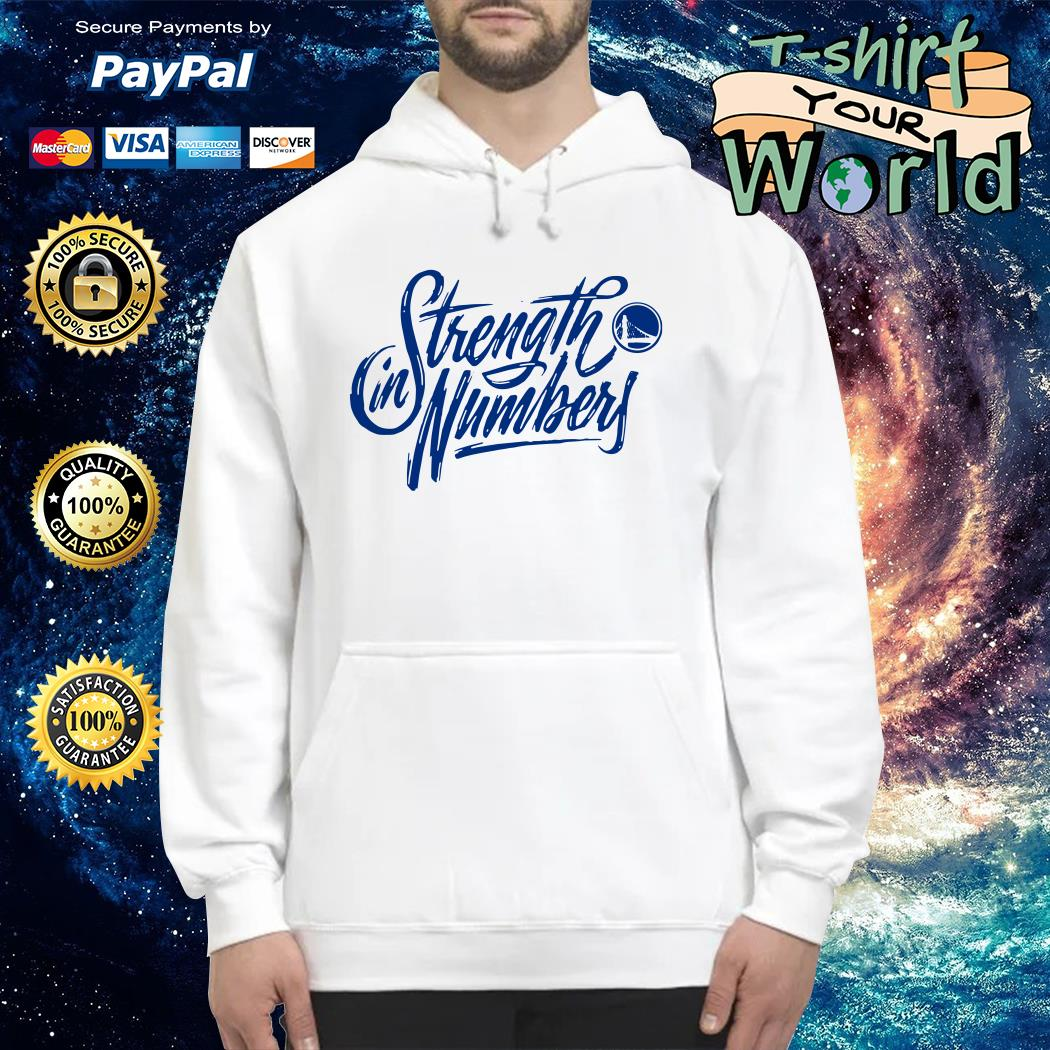 Blue Strength in numbers warriors Hoodie