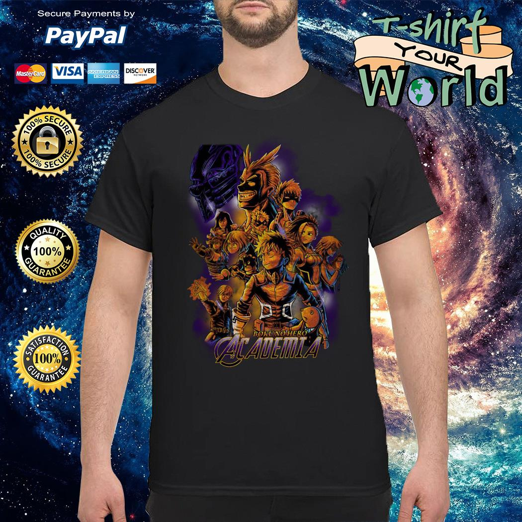 Boku no hero Academia end game shirt