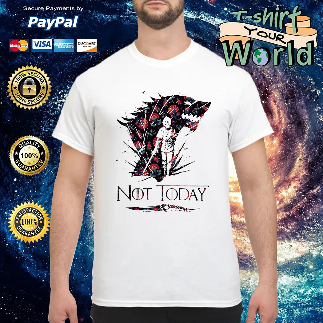 Flower Stark Winter Catspaw Blade GOT Not Today shirt