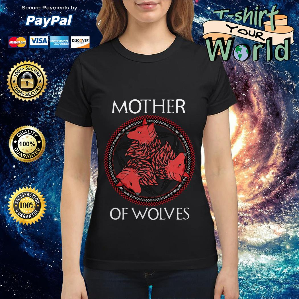 GOT Mother of wolves Ladies tee