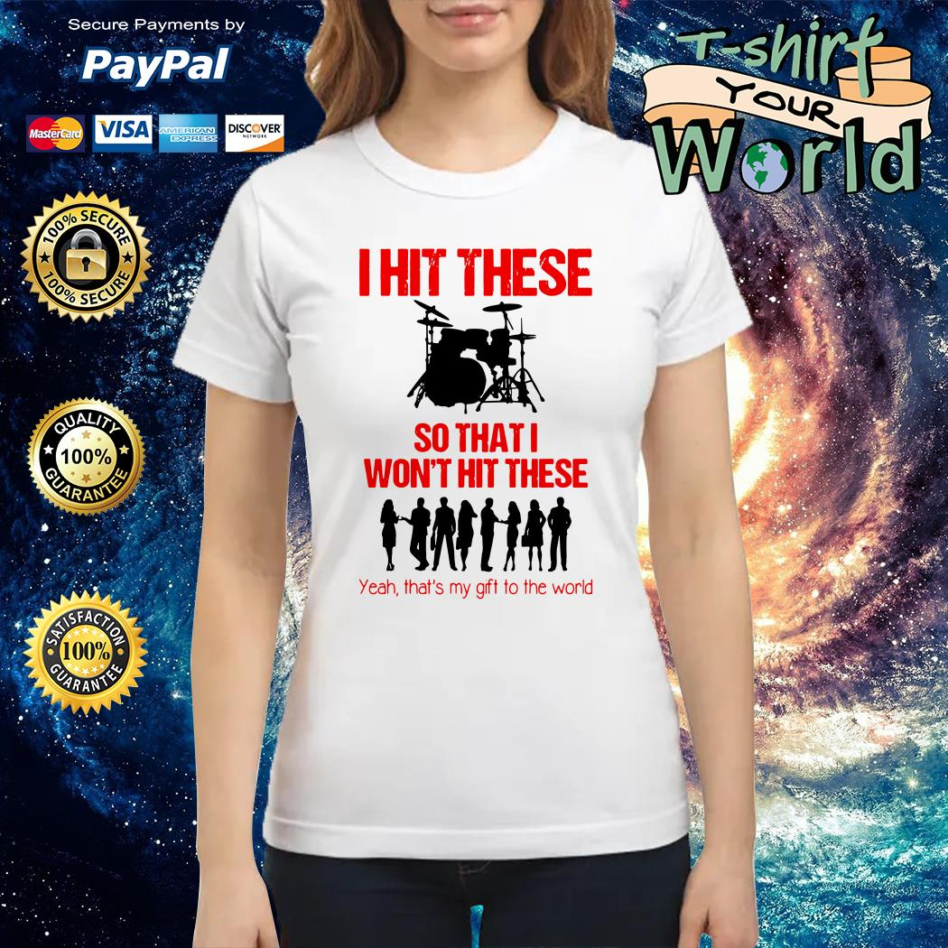 I hit these so what I won't hit these yeah that's My gift to the world Ladies tee