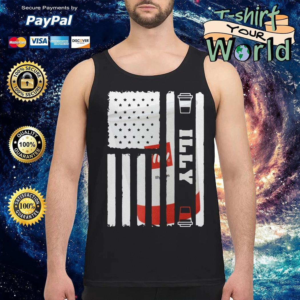 Illy american flag Tank top