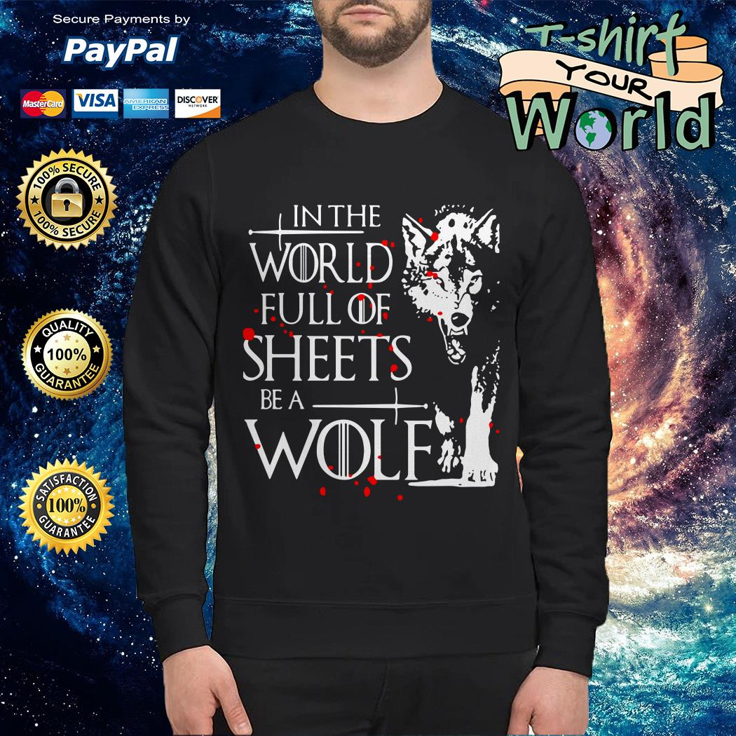 In the world full of sheets be a Wolf Sweater