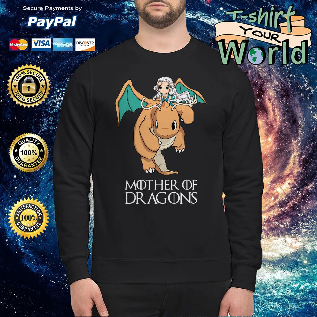 Mother Of Dragons Game Of Thrones Dragonite Pokemon Sweater