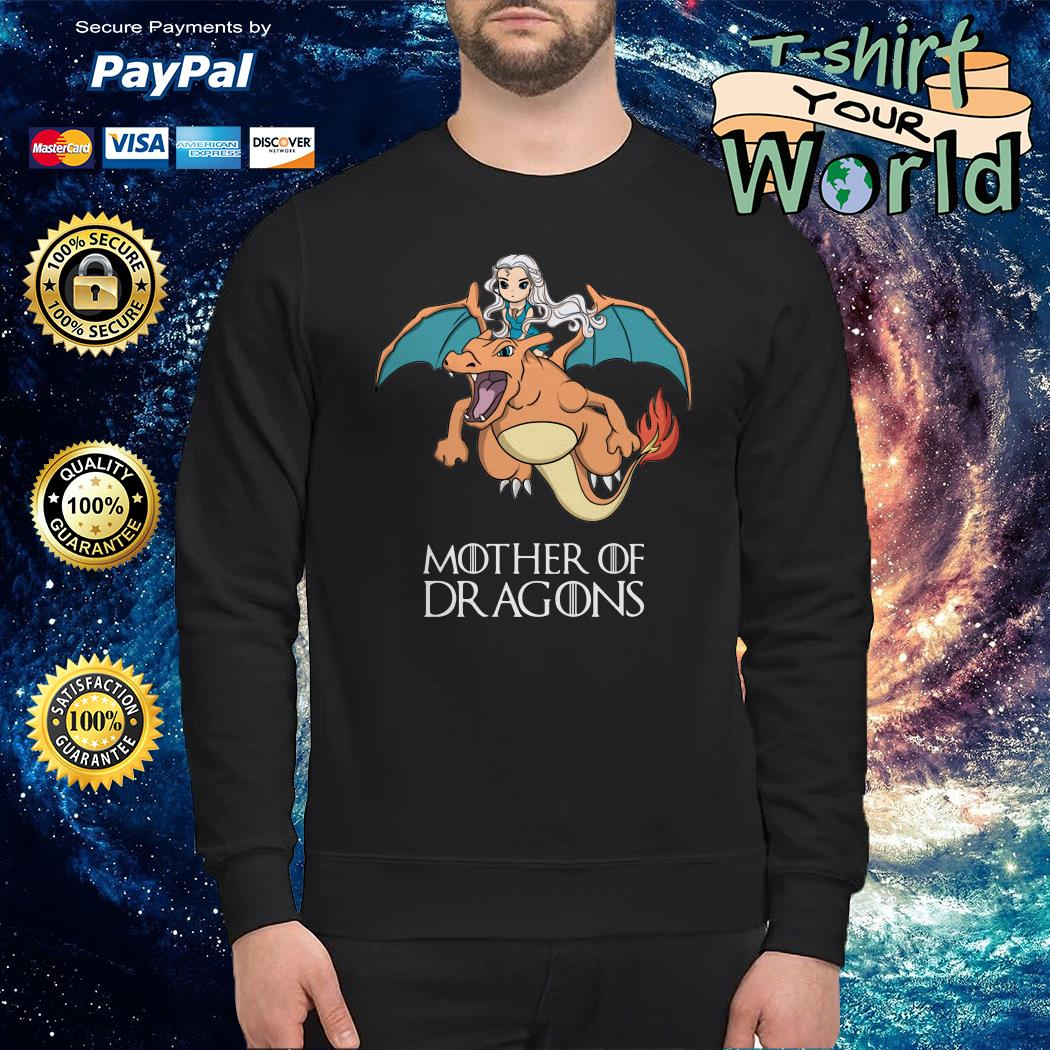 Mother Of Dragons Game Of Thrones Mashup Pokemon Sweater