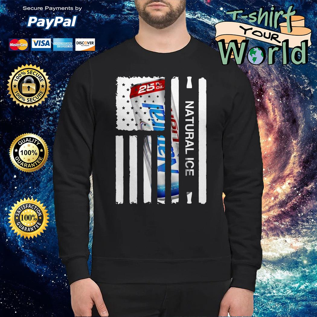 Natural Ice american flag Sweater
