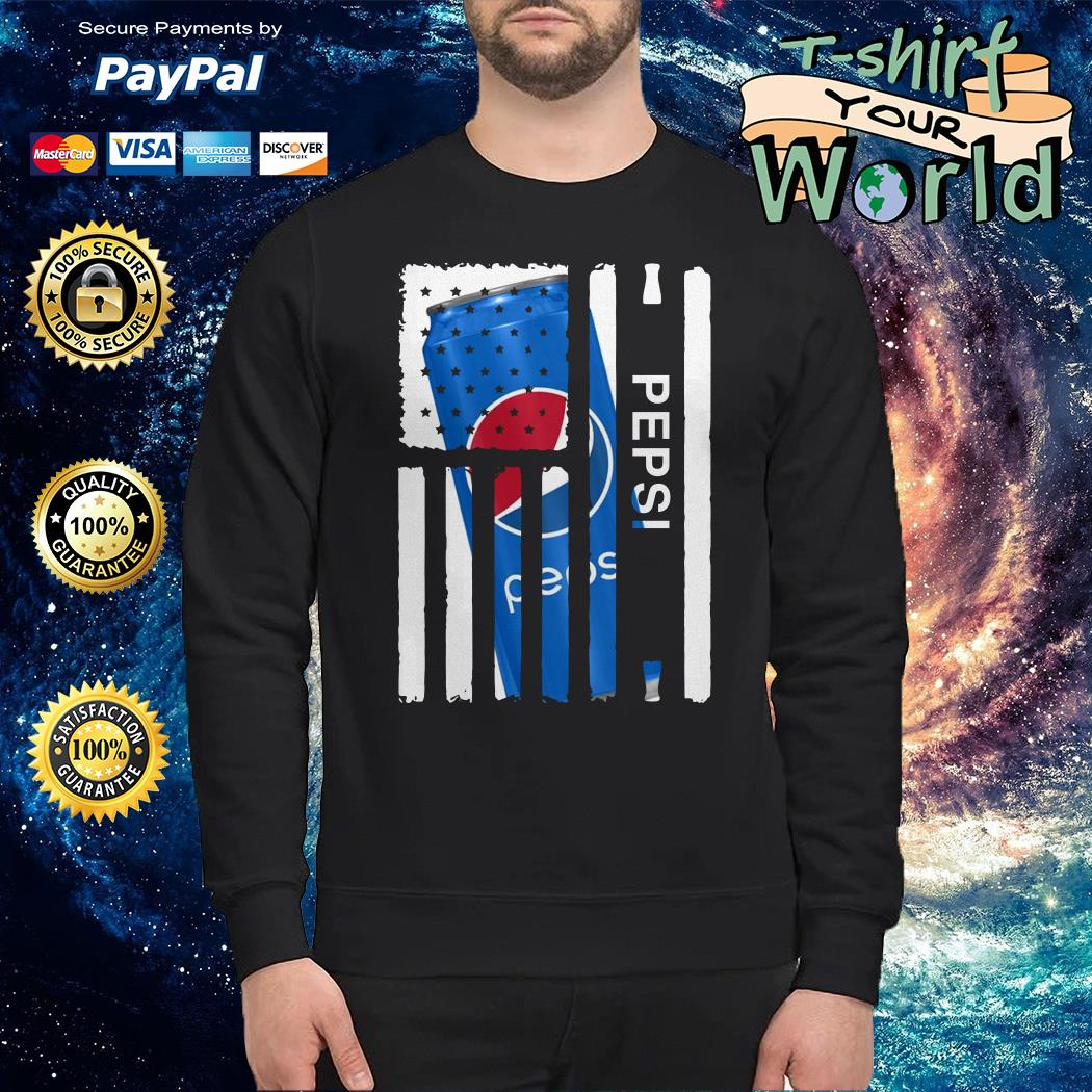 Pepsi independence day american flag Sweater