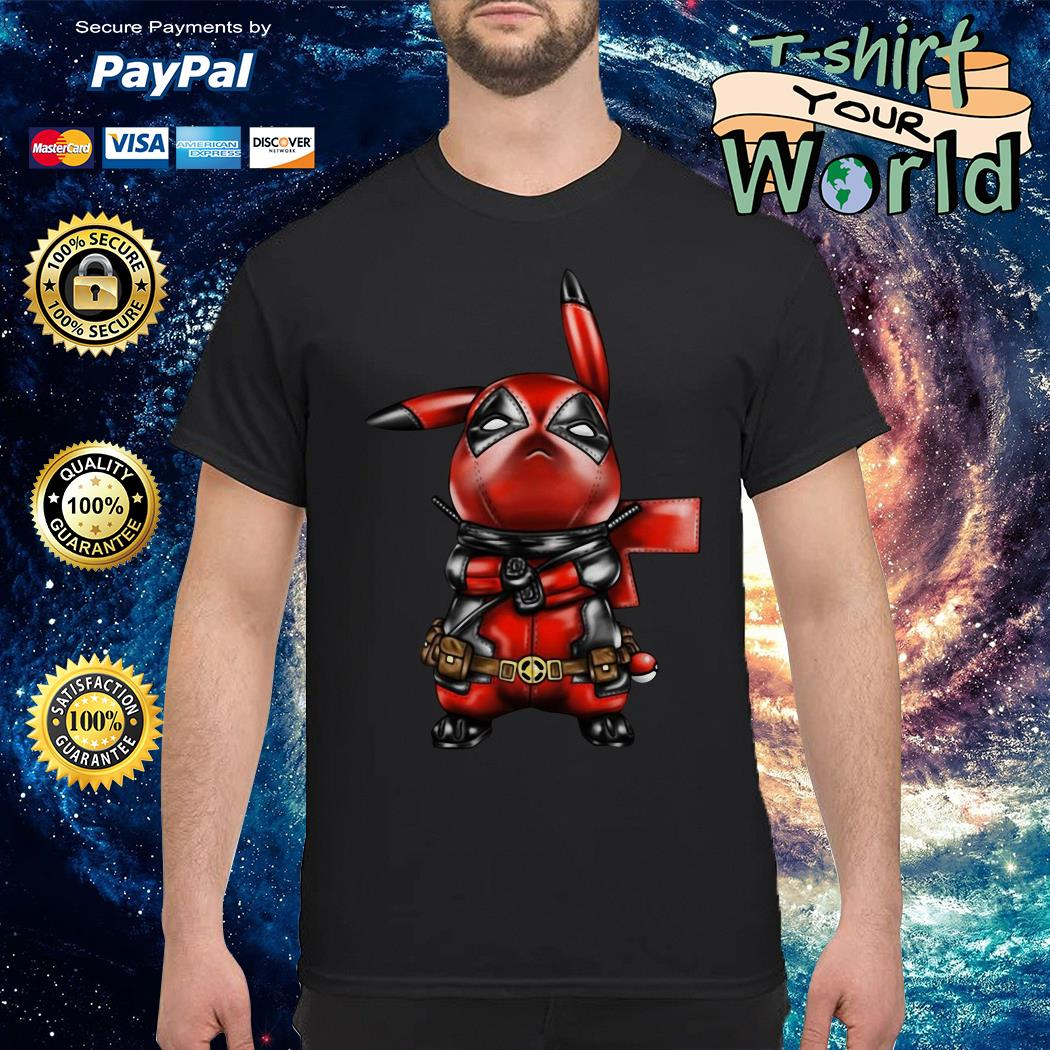 Pikapool cartoon meme shirt