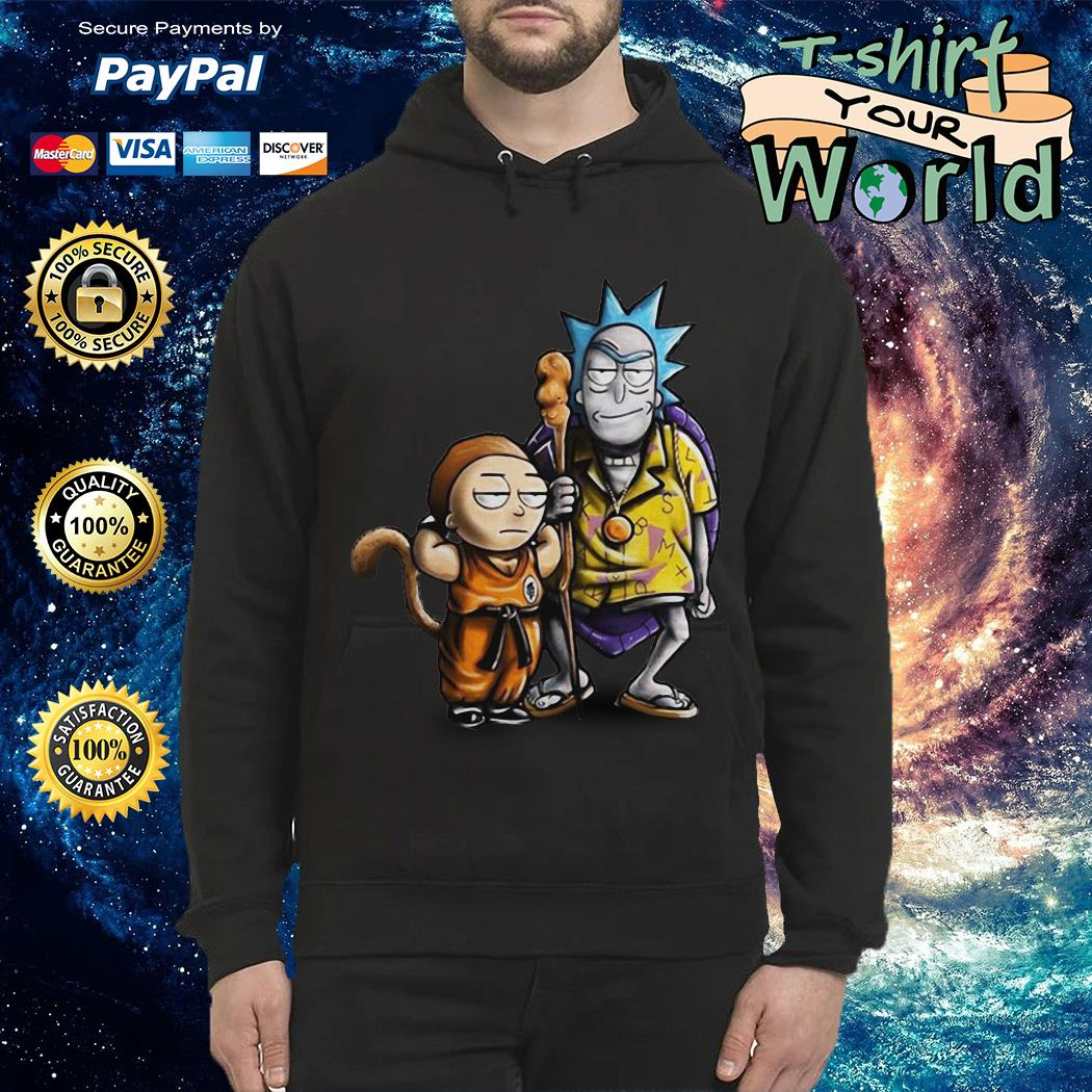 Rick and morty dragon ball Hoodie