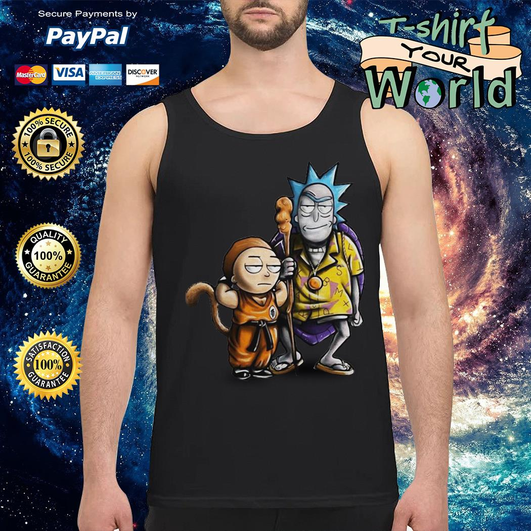 Rick and morty dragon ball Tank top