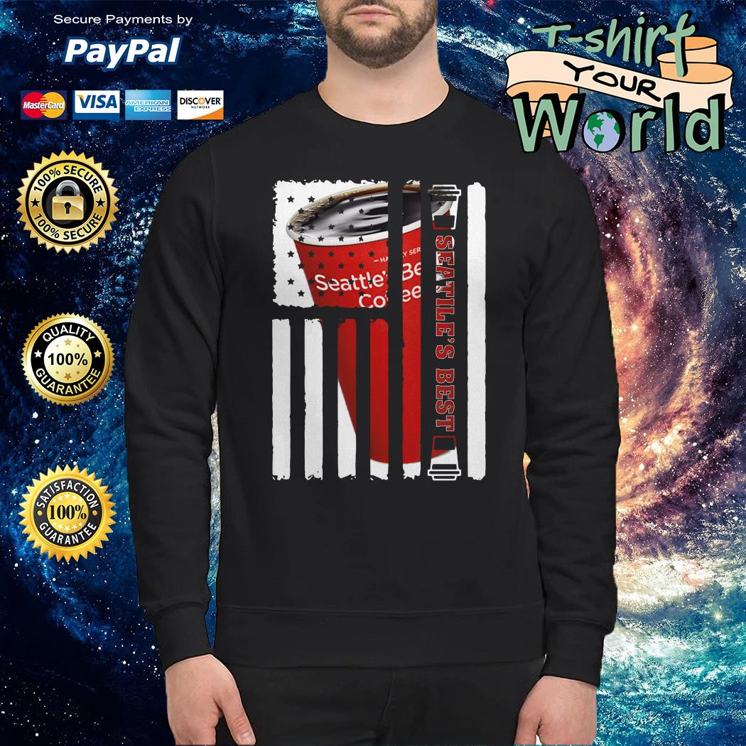 Seattle Best american flag Sweater