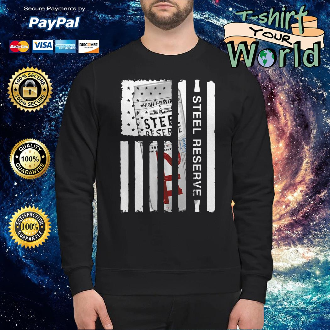 Steel Reserve independence day american flag Sweater